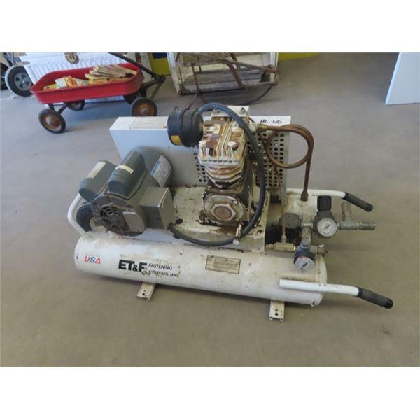ET & F 1 1/2 HP Air Compressor