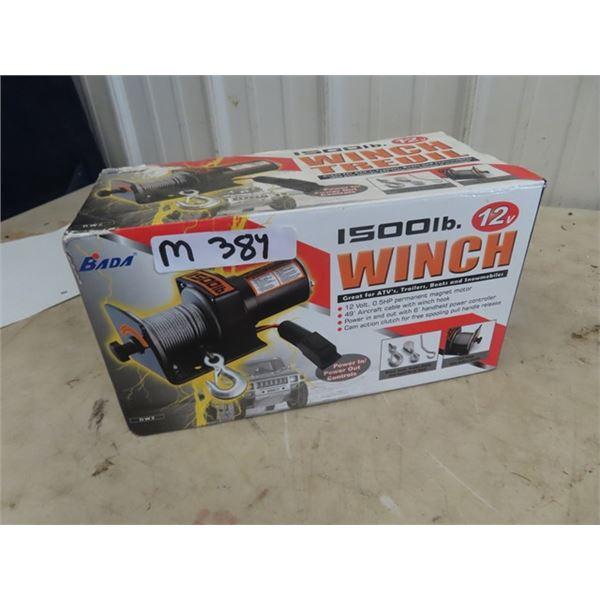 New 1500 Winch 12 Volt