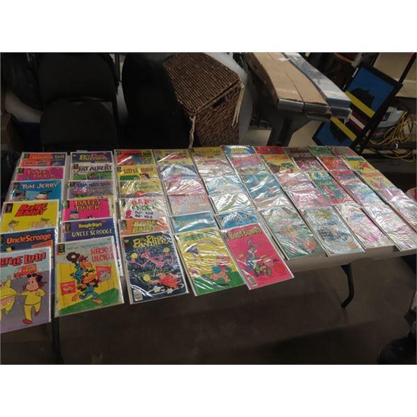 Approx 55 Comics 20 - 60 Cents