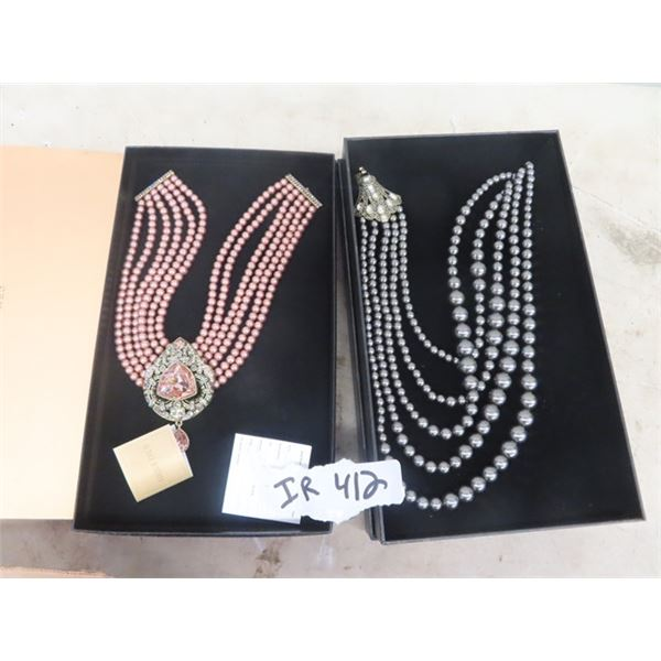 2 Beautiful Heidi Daus Necklaces