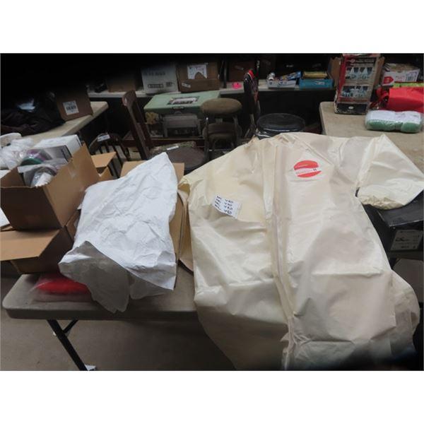 Painters Jacket & Over The boots , Hazard Breathing Respirators