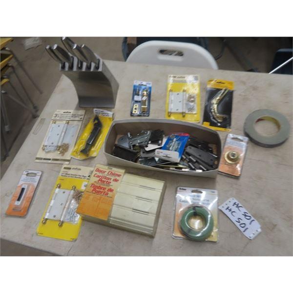 Knife, Hardware, Door Bell, & Hinges