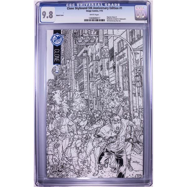 Image Comics Clone Skybound 5th Anniversary Edition #1 7/15 CGC 9.8