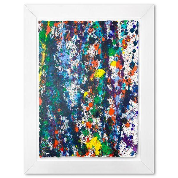 "Wyland ""Coral Reef 1"" Original Watercolor On Paper"