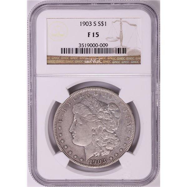 1903-S $1 Morgan Silver Dollar Coin NGC F15