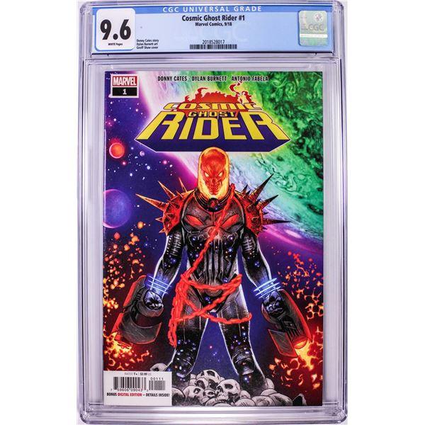 Marvel Comics Cosmic Ghost Rider #1 Comic Book 9/18 CGC 9.6