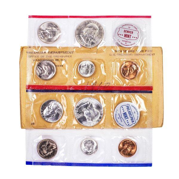 1960 P & D U.S. Mint (10) Coin Set