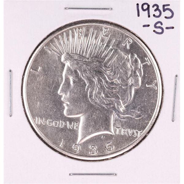 1935-S $1 Morgan Silver Dollar Coin