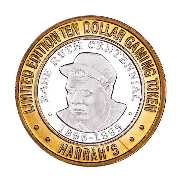 .999 Silver Harrah's Kansas City, MO $10 Casino Limited Edition Gaming Token