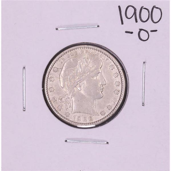 1900-O Barber Quarter Coin