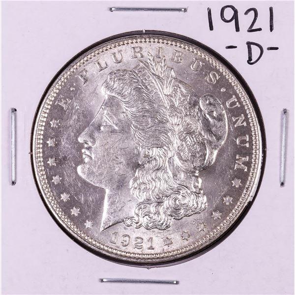 1921-D $1 Morgan Silver Dollar Coin