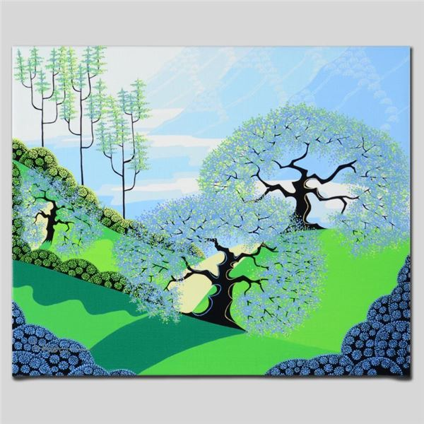 """Larissa Holt """"Spring"""" Limited Edition Giclee On Canvas"""