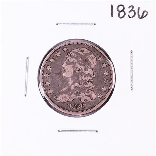 1836 Capped Bust Quarter Coin