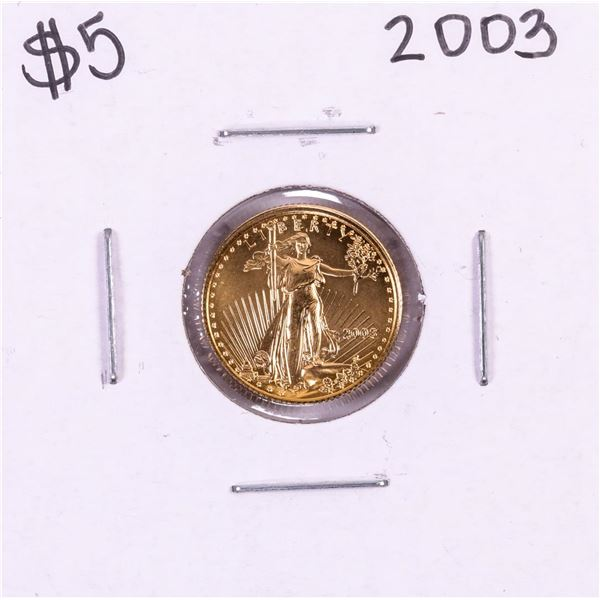 2003 $5 American Gold Eagle Coin