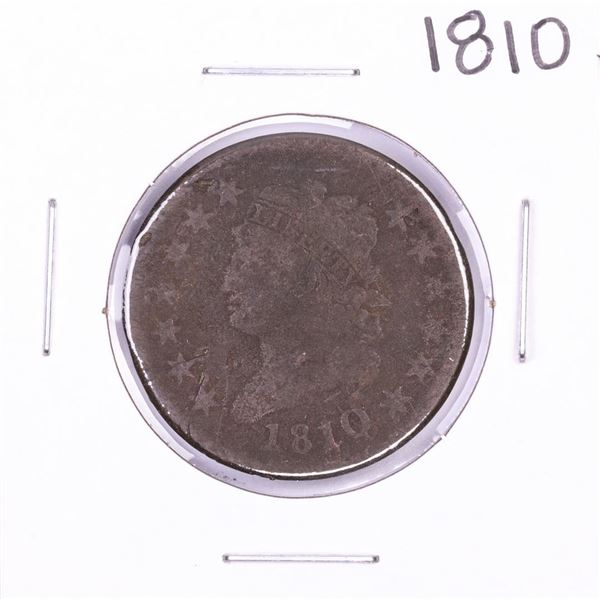 1810 Classic Head Large Cent Coin