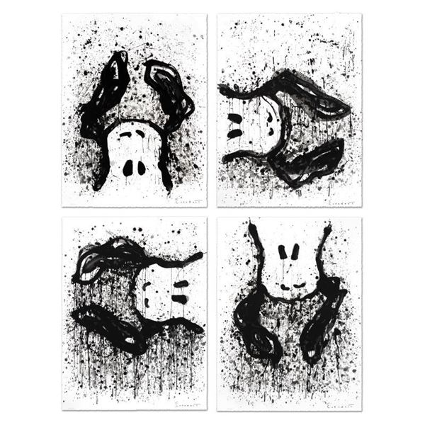 """Tom Everhart """"Watchdog Suite - Matching #'S"""" Limited Edition Lithograph On Paper"""