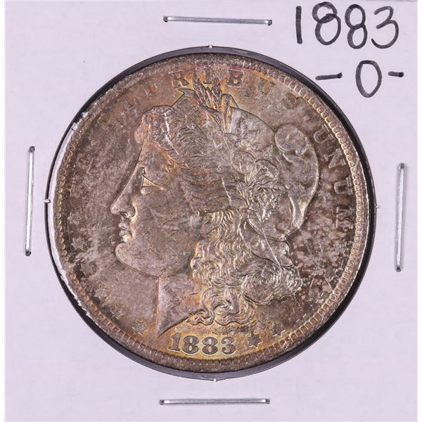 1883-O $1 Morgan Silver Dollar Coin Nice Toning