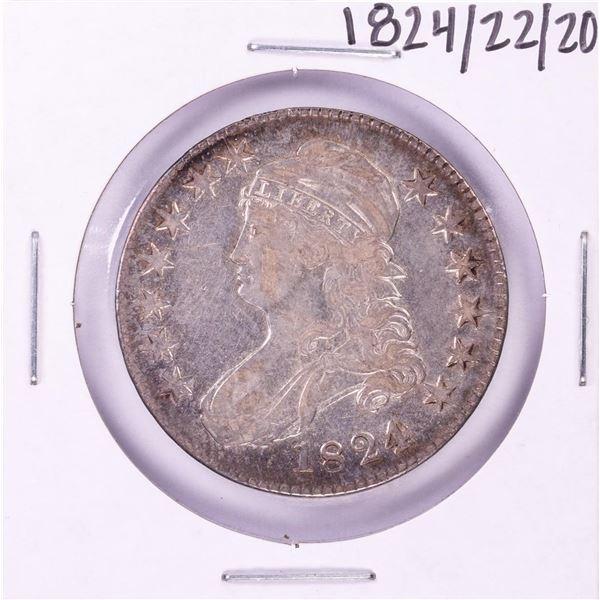 1824/22/20 Capped Bust Half Dollar Coin