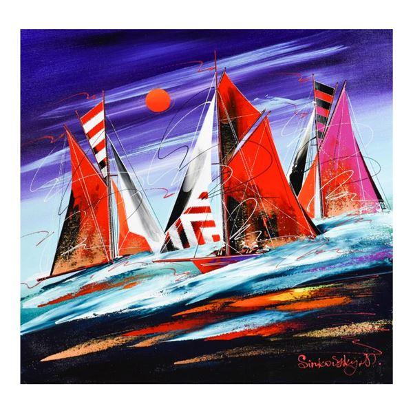 Natalia Sinkovsky Hand Signed Original Acrylic Painting On Canvas
