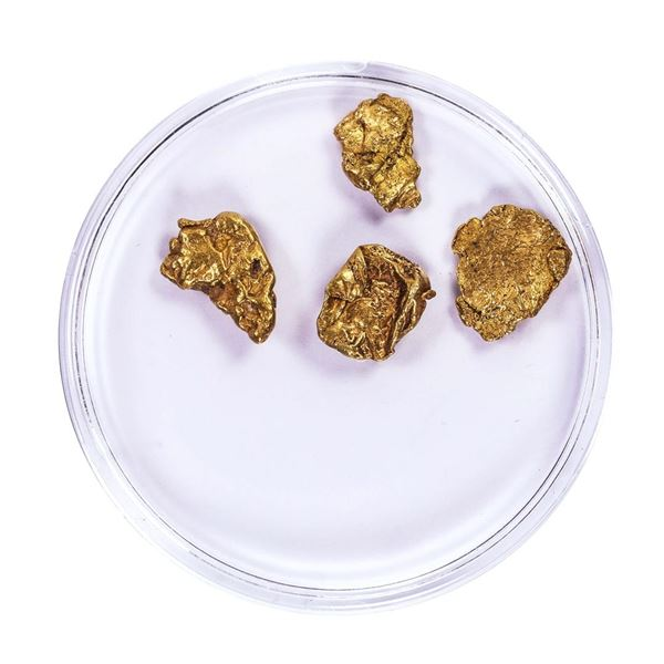 Lot of Gold Nuggets 3.53 Grams Total Weight