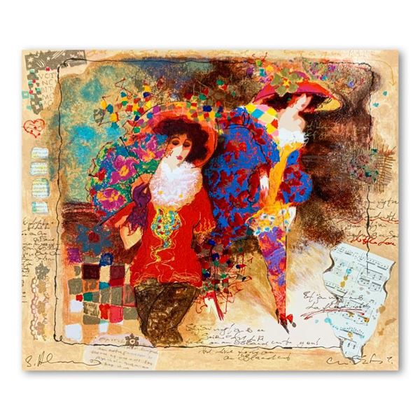 "Alexander & Wissotzky ""Elegant Women Ii"" Limited Edition Serigraph On Paper"
