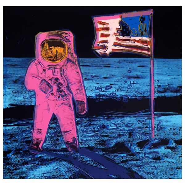 """Andy Warhol """"Moonwalk"""" Limited Edition Serigraph On Paper"""