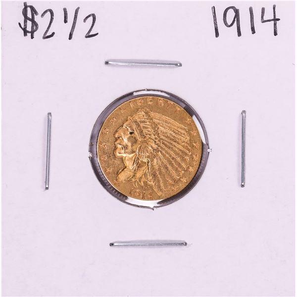 1914 $2 1/2 Indian Head Quarter Eagle Gold Coin