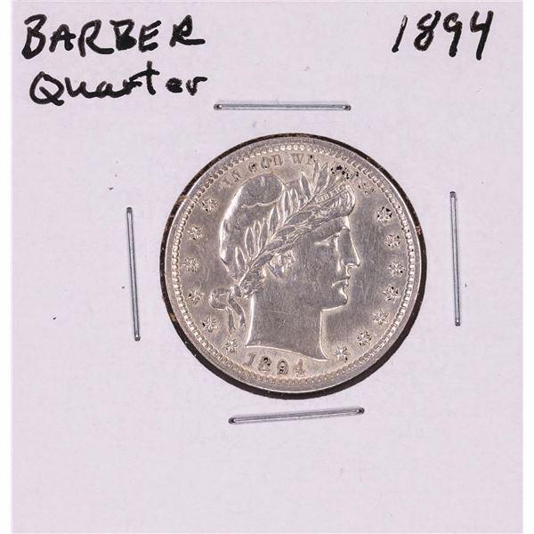 1894 Barber Quarter Coin