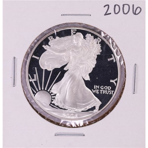 2006-W $1 Proof American Silver Eagle Coin