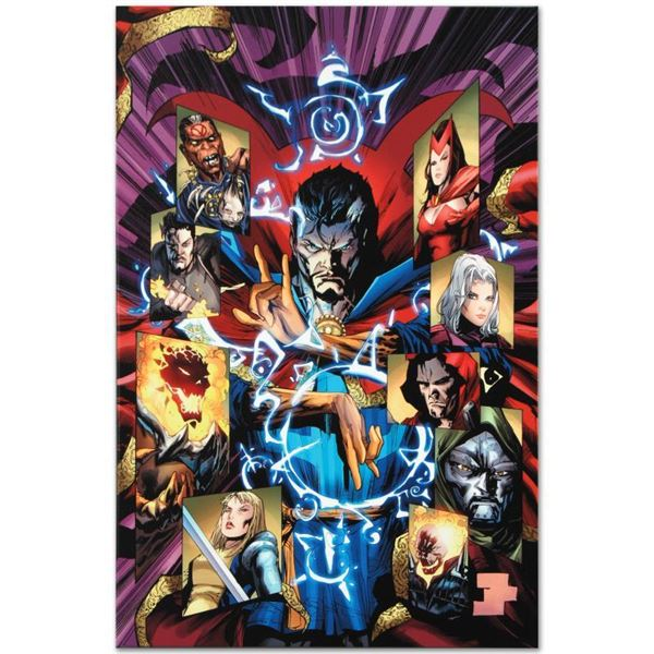 """Marvel Comics """"New Avengers #51"""" Limited Edition Giclee On Canvas"""