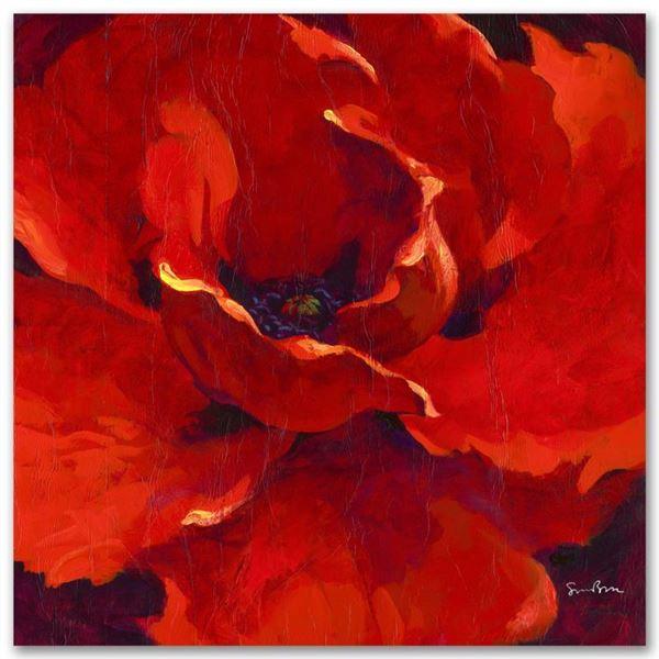 """Simon Bull """"Gem"""" Limited Edition Giclee On Canvas"""
