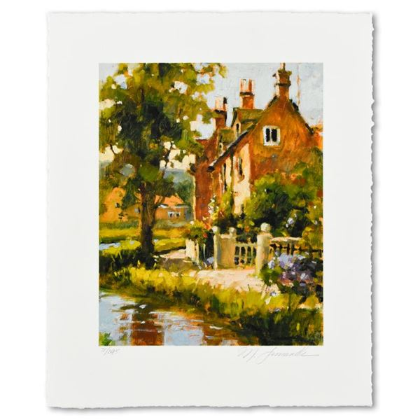 """Marilyn Simandle """"Cotswold"""" Limited Edition Giclee On Paper"""