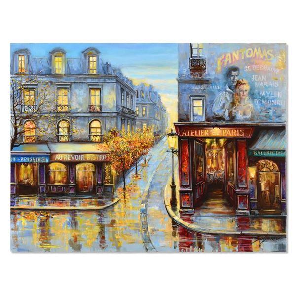 """Suljakov """"Fantomas"""" Original Oil On Canvas"""