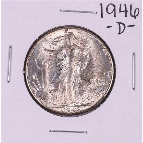 1946-D Walking Liberty Half Dollar Coin