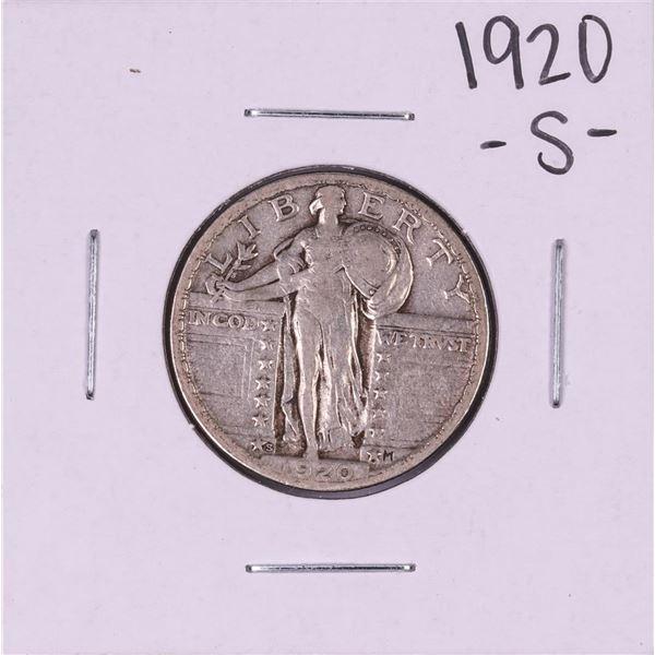 1920-S Standing Liberty Quarter Coin