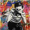 """Image 2 : Mr. Brainwash """"Smile"""" One-of-a-Kind Hand Signed Original Mixed Media"""