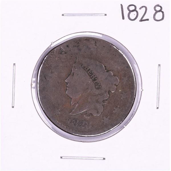 1828 Coronet Head Large Cent Coin