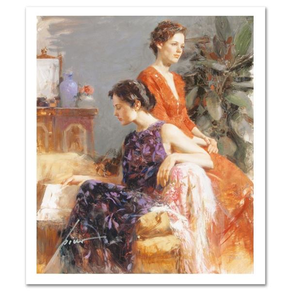 """Pino (1939-2010) """"Lazy Afternoon"""" Limited Edition Giclee On Paper"""
