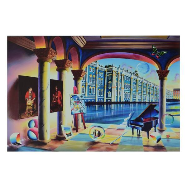 """Ferjo """"View Of The Hermitage"""" Limited Edition Giclee On Canvas"""