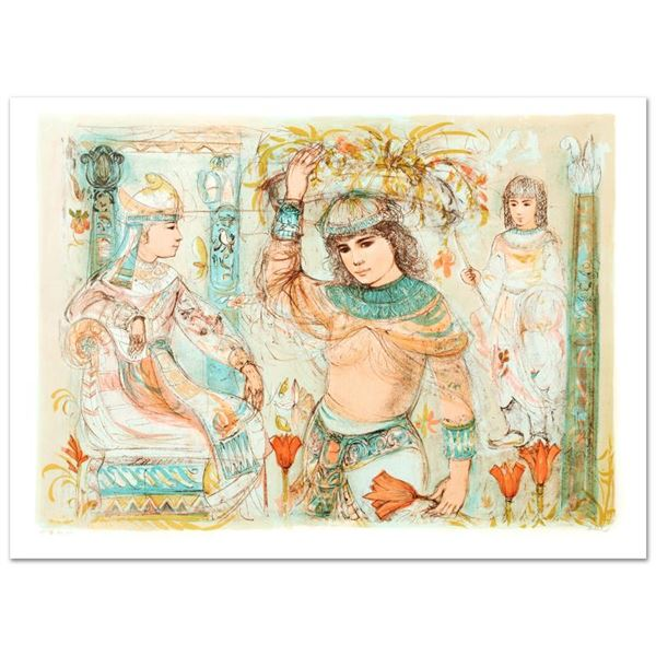 """Hibel (1917-2014) """"Aida"""" Limited Edition Lithograph On Paper"""