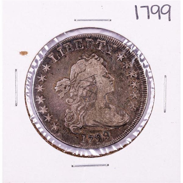 1799 $1 Draped Bust Silver Dollar Coin