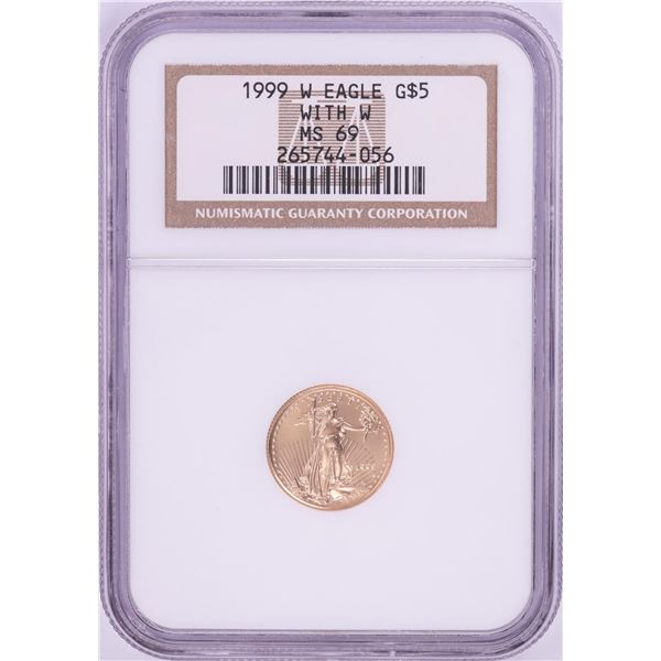 1999-W $5 American Gold Eagle Coin NGC MS69