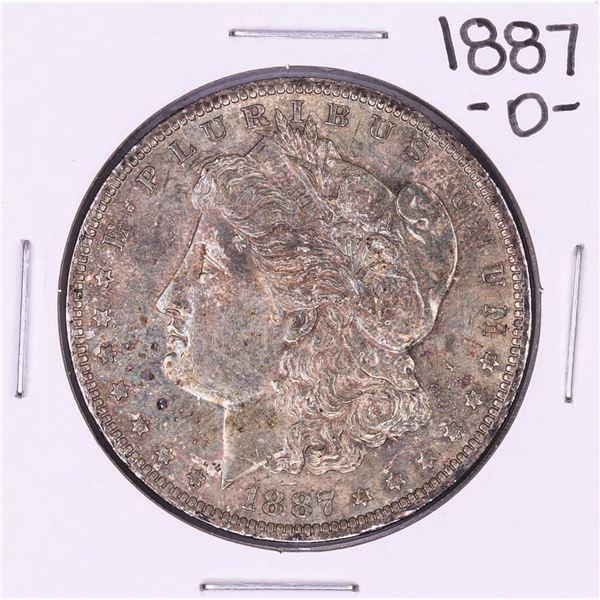 1887-O $1 Morgan Silver Dollar Coin Nice Toning
