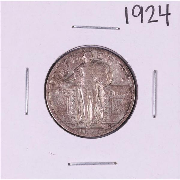 1924 Standing Liberty Quarter Coin