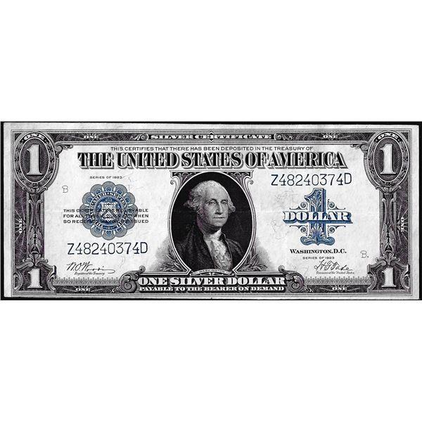 1923 $1 Silver Certificate Note Fr.239