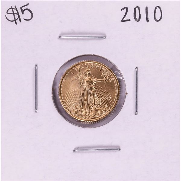 2010 $5 American Gold Eagle Coin