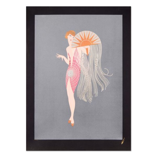 """Erte (1892-1990) """"Flapper"""" Limited Edition Serigraph On Paper"""