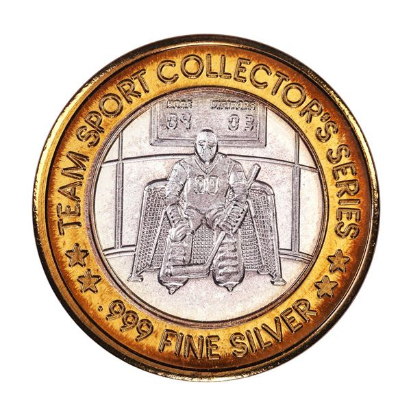 .999 Fine Silver Station Casino St Charles Missouri $10 Limited Edition Gaming Token