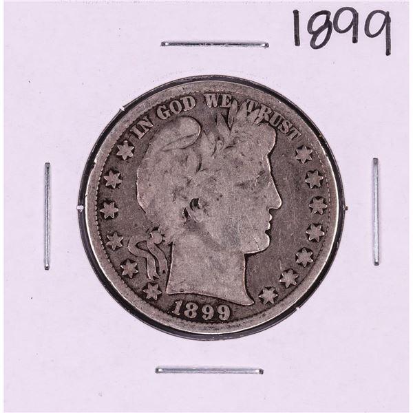 1899 Barber Half Dollar Coin