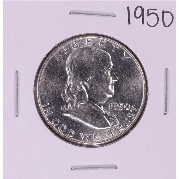 1950 Franklin Half Dollar Coin